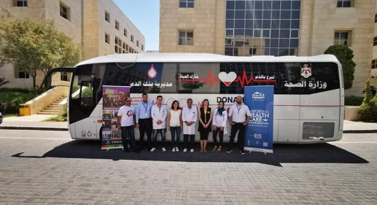 Electronic Health Solutions (EHS) organizes its 5th blood donation campaign
